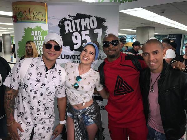 yomil y el dany primer concierto en miami