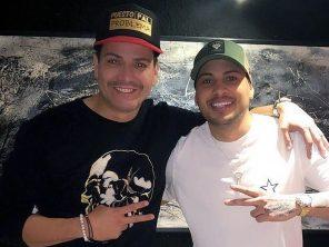 Jacob Forever y Víctor Manuelle