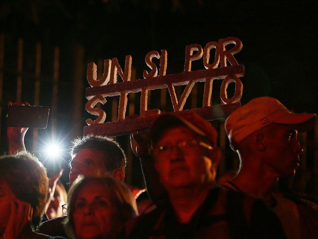 Silvio en concierto