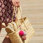 Saca tus bolsos de tejidos naturales. ¡Se ponen de moda!