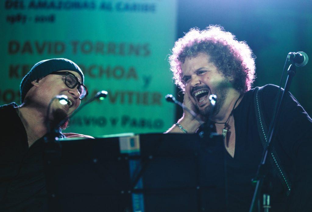 Kelvis Ochoa y David Torrens