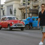 Denis Suárez, futbolista del FC Barcelona, visita La Habana