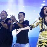 Diez fotos para describir el concierto de Gente de Zona y Laura Pausini en Cuba
