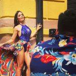Las ardientes fotos de la cantante cubana Diana Fuentes en La Habana