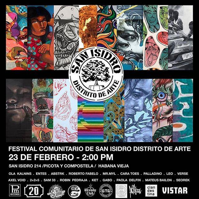 Cartel del Festival de San Isidro D.A.