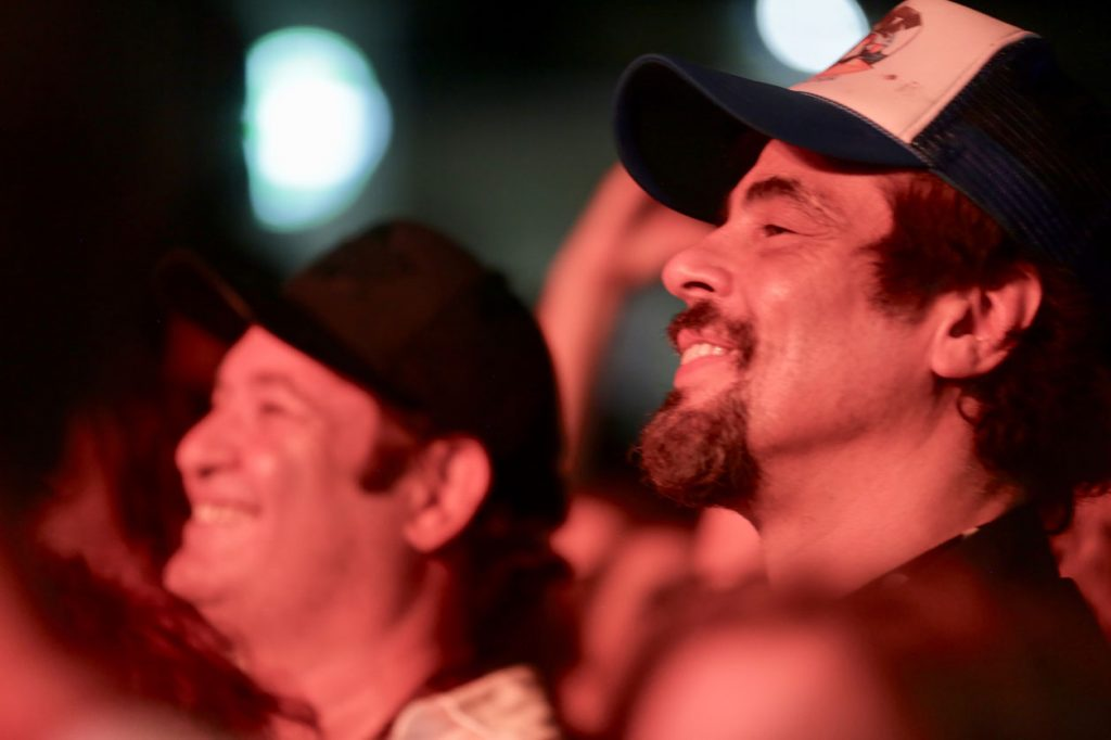Jorge Perugorría y Benicio del Toro