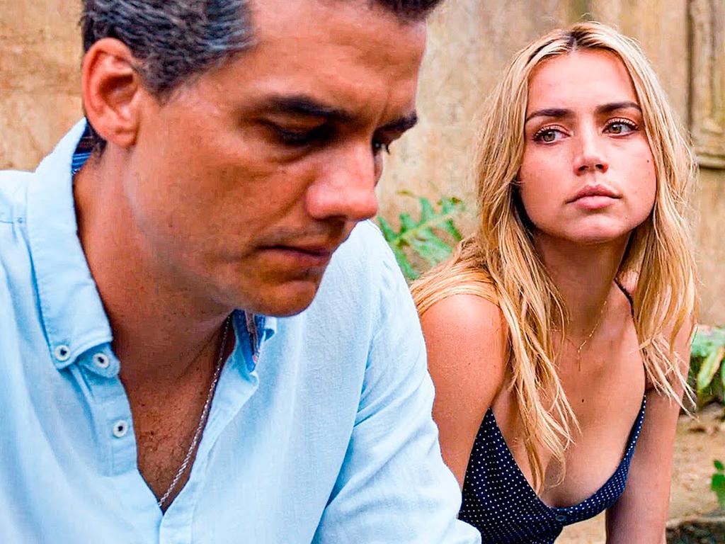 Ana de Armas junto a Wagner Moura en Sergio / Foto: fotograma de la película