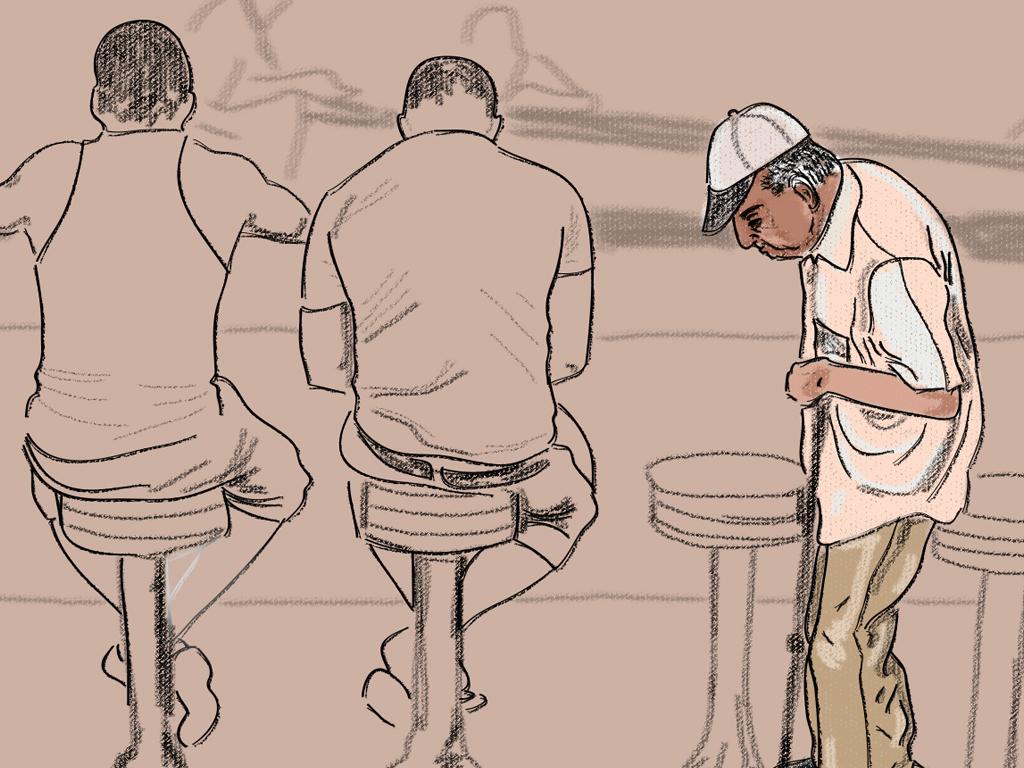 La cuarentena en Cuba no será igual para todos/ Ilustración: Carlos Ávila Villamar